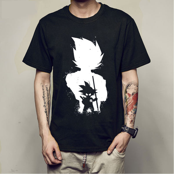 Anime Dragon Ball Z Vegeta Super Saiyan T-Shirt