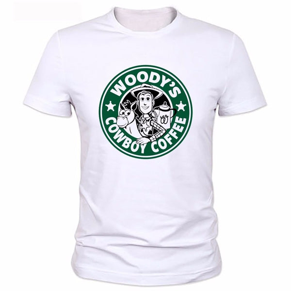Toy Story Woody's Coffee Shirt