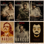 Pablo Escobar Narcos Wall Sticker and Poster - Seen On The Screen - TV and Movie Clothing