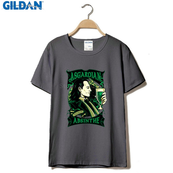 Asgardian Absinthe Loki T-Shirt - Seen On The Screen - TV and Movie Clothing