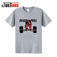 Funny Dead Pull Gym Lifting T-Shirt - Seen On The Screen - TV and Movie Clothing