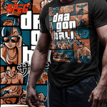Grand Theft Auto Dragon Ball Z T-Shirt