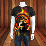 Awesome Mortal Kombat T-Shirt - Seen On The Screen - TV and Movie Clothing