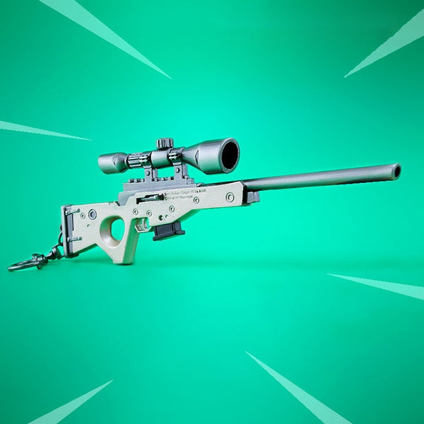 Fortnite Battle Royale Bolt-Action Model Keychain