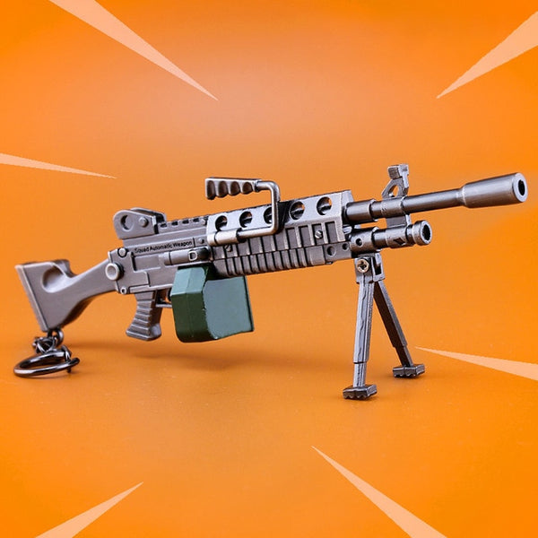 Light Machine Gun Fortnite Battle Royale Model Keychain