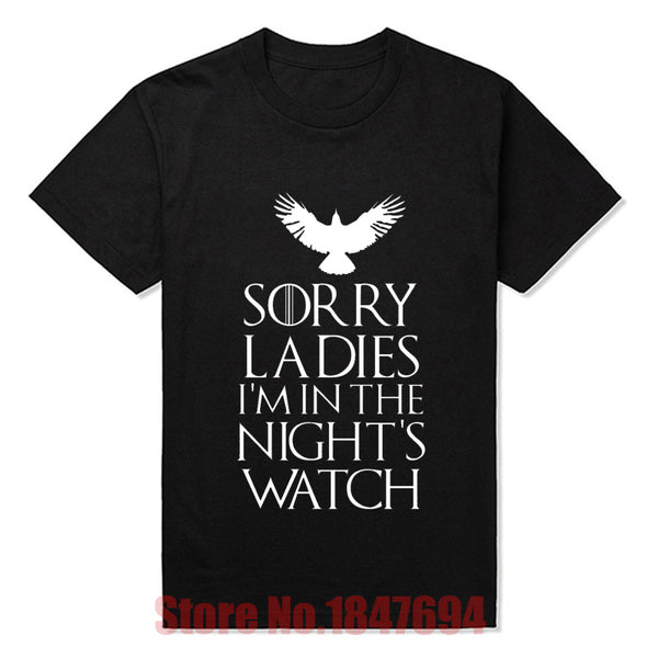 Nights Watch T Shirt - Seen On The Screen - TV and Movie Clothing