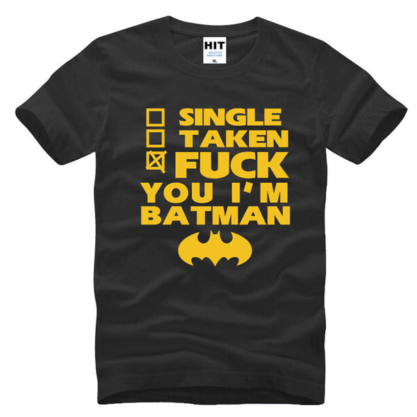 Batman Relationship Status - Seen On The Screen - TV and Movie Clothing