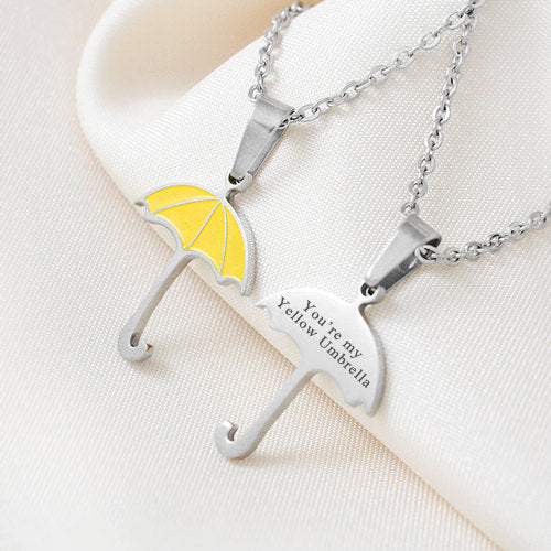 You're My Yellow Umbrella Necklace - Seen On The Screen - TV and Movie Clothing