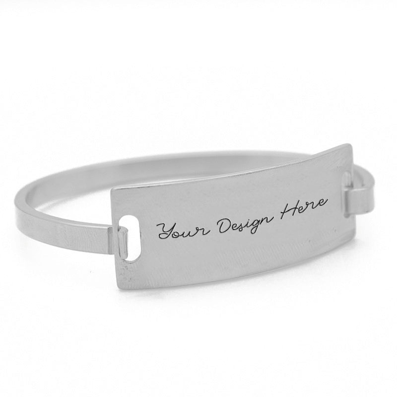 Sentiment Bangle Bracelet