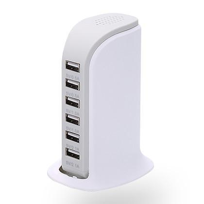 30 Watt 6 Port USB Charging Station