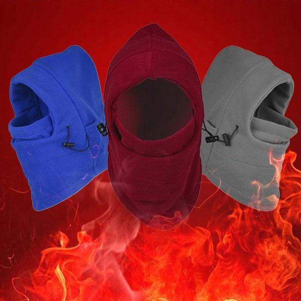 Electric Heated Thermal Warm Face Balaclava Mask
