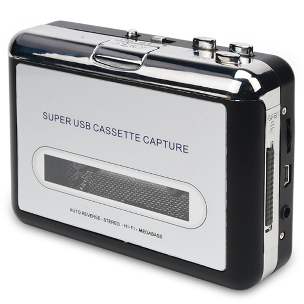 Mini USB Audio Cassette to MP3 Converter