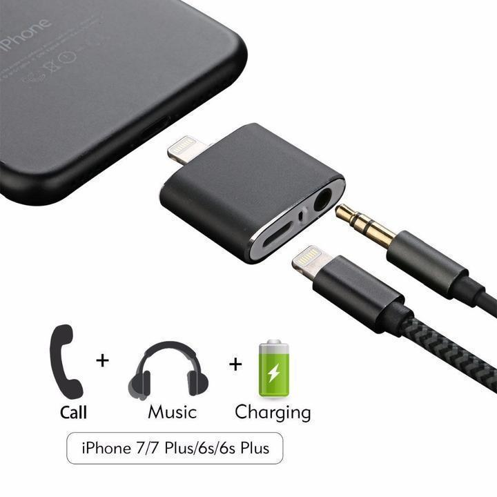 4-In-1 iOS Audio Charger Adapter -