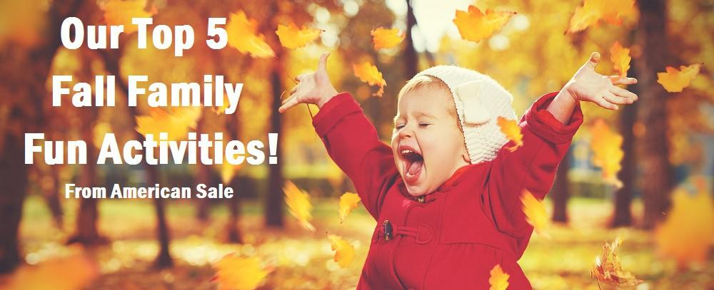 Our Top 5 Fall Family Fun Activities!