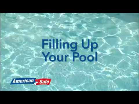 Opening Your Pool- Filling Up Your Pool