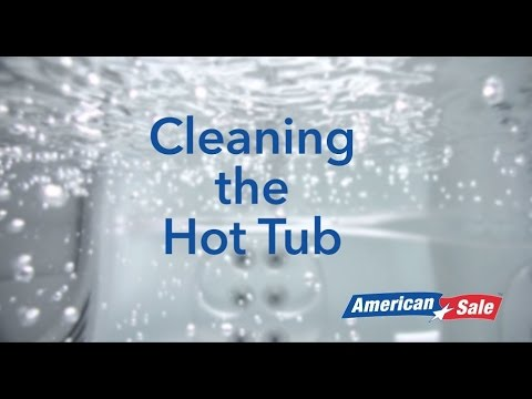How to Winterize Your Hot Tub- Step 3- Cleaning the Hot Tub