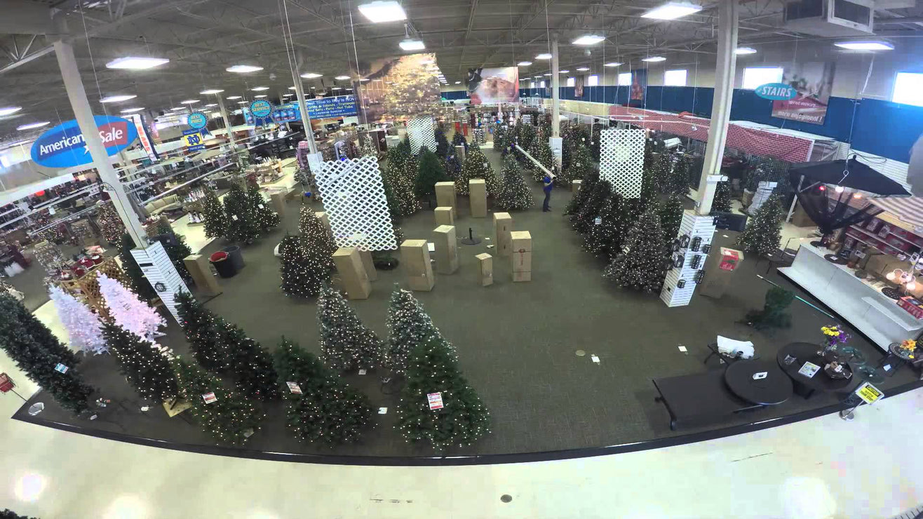 A Glimpse into American Sale Christmas Transition