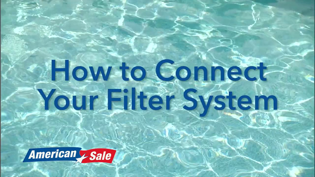 Opening Your Pool- Connecting Filter System