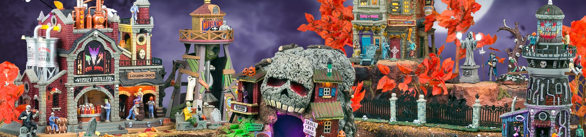 Lemax Spooky Town Halloween Collectibles