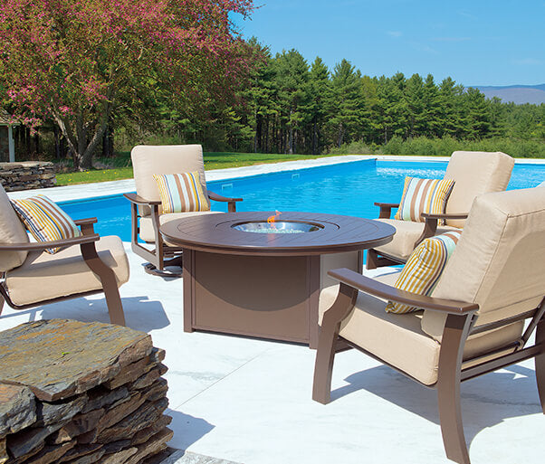 American Made Patio Furniture On Sale: Pool Table Clearance