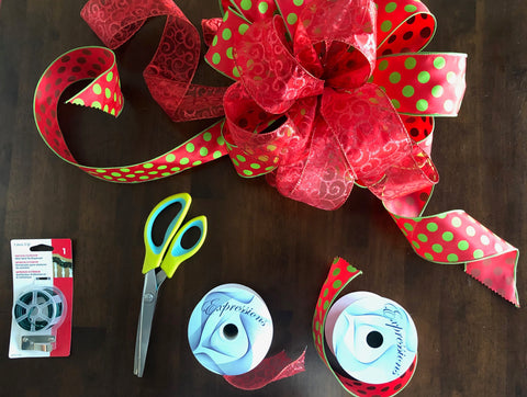 How To Create The Perfect Tree Topper Bow