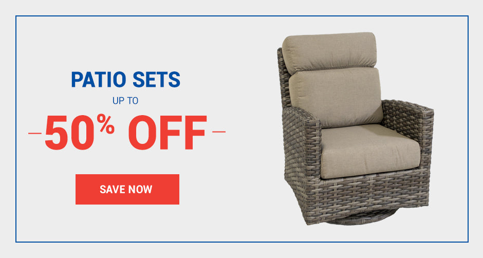Patio Sets starting at $139