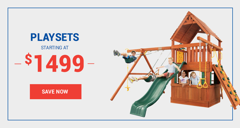 Playsets starting at $25/mo