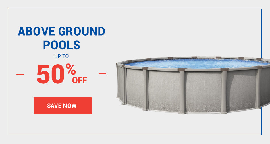 Above Ground Pools starting at $2899
