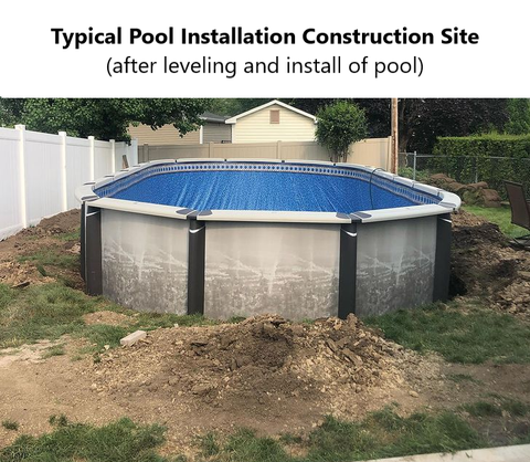 Pool Construction Site