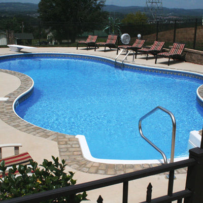 Lake Bluff Best Prices Inground Swimming Pool