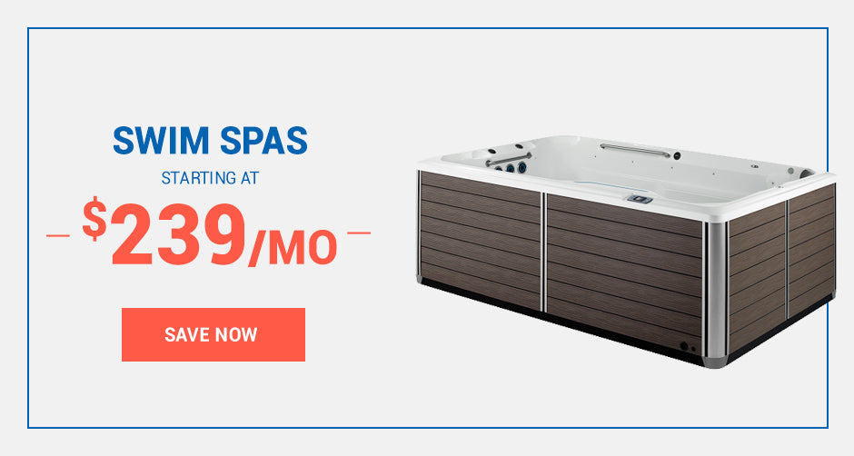 Swim Spas starting at $239/mo