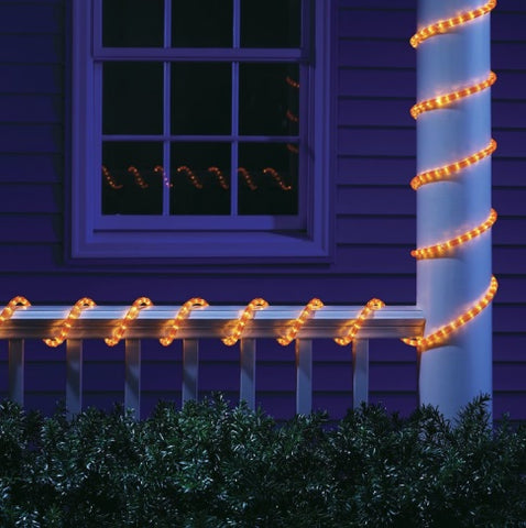 9' Orange LED Rope Lights