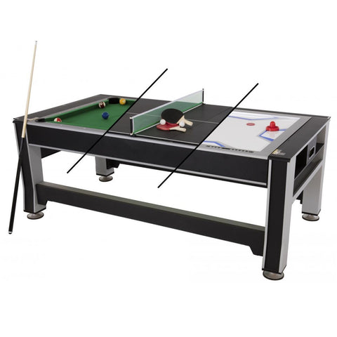 Triumph® 3-in-1 Swivel Multi-Game Table