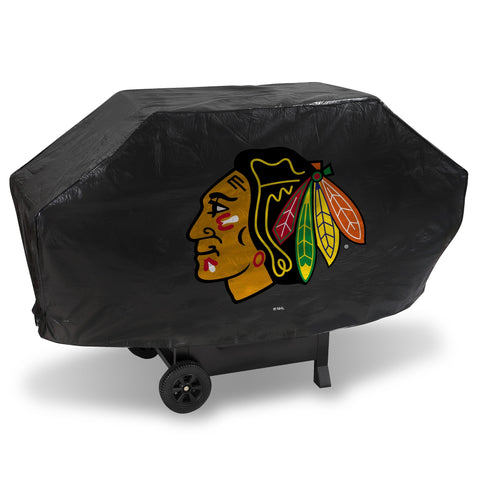 Chicago Blackhawks Deluxe Vinyl Padded Grill Cover