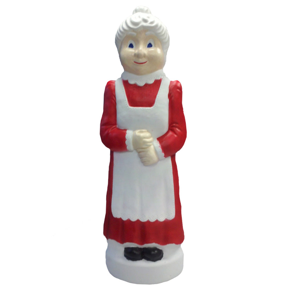 "40"" Mrs. Claus Blow Mold Christmas Decoration"