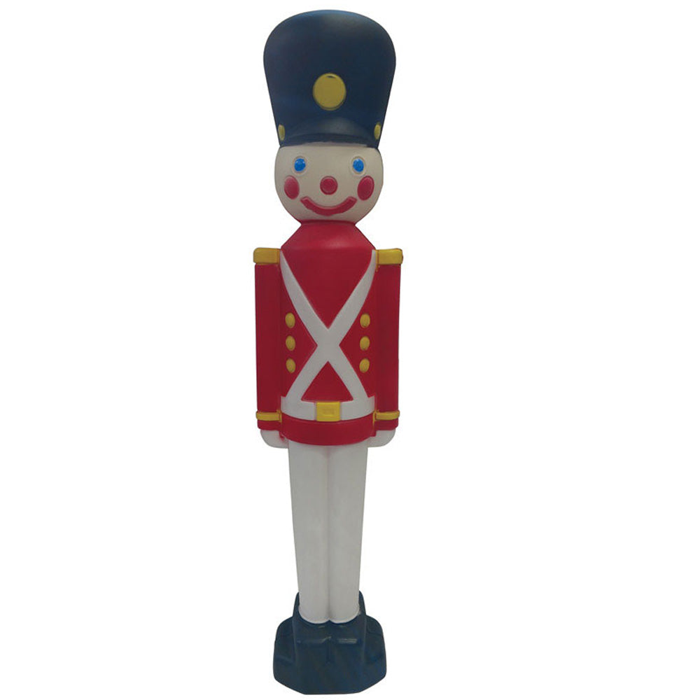 31 Inch Toy Soldier Blow Mold Christmas Decoration Union