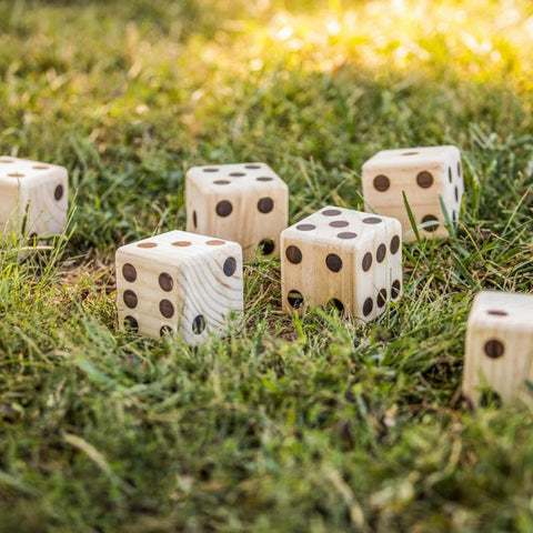 Backyard - Big Roller Wooden Lawn Dice