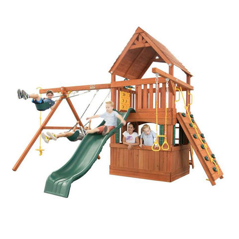 Backyard - Hyde Park Wooden Playcenter