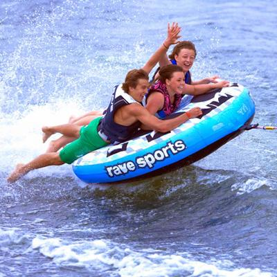Backyard - Rave Sports X Frantic 3 Person Towable Tube