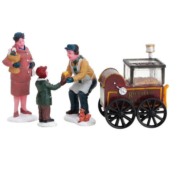 Lemax General Collectible Figurines Roasted Chestnut