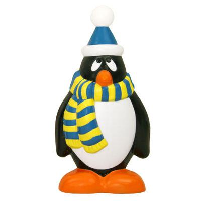 "Christmas - 28"" Scarf-Wearing Penguin Blow Mold Christmas Decoration"