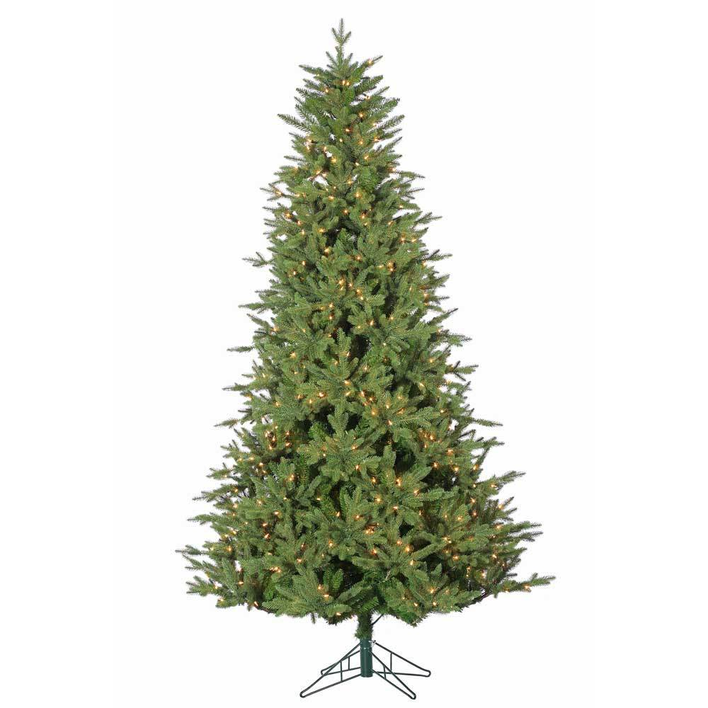 Bedford Pine Instant Glow Power Pole Pre-Lit Artificial Christmas Tree