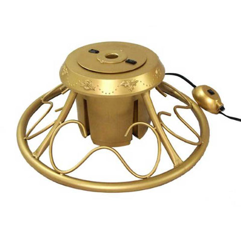 Christmas - Deluxe Gold Revolving Artificial Tree Stand