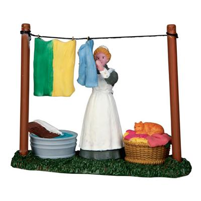 Lemax General Collectibles Figurine Laundry Day Lemax