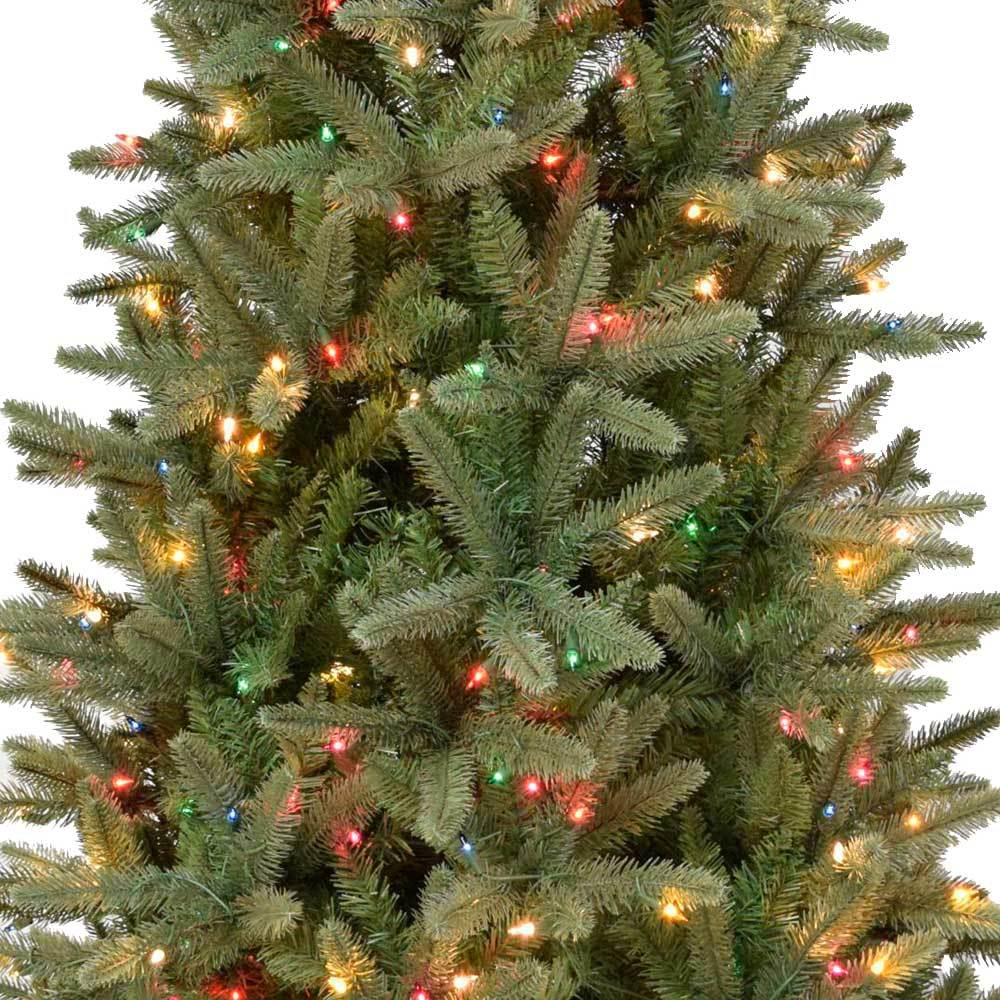 northern cypress slim instant lite pole pre lit artificial christmas tree - Cypress Christmas Tree
