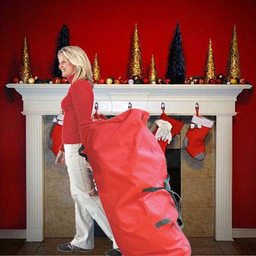 rolling artificial christmas tree storage bags - Rolling Christmas Tree Storage Bag