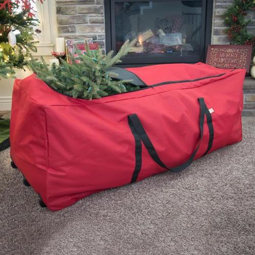 christmas tree storage bags santa 39 s bags rolling christmas tree storage bag. Black Bedroom Furniture Sets. Home Design Ideas