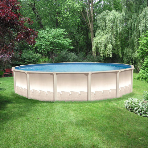 Above Ground Swimming Pools | Semi Inground Pools | Pools For Sale ...