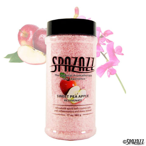 Spa And Wellness - Spazazz Original Crystals - Sweet Pea Apple Rejuvenate