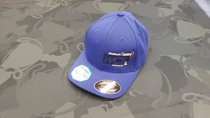 BLUE Flexfit Hat with GREY-BLACK WCF Logo (L/XL)